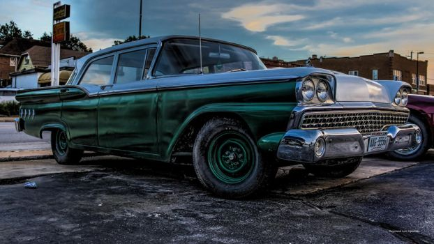 Ford 1956 HDR shot 2 by rimete