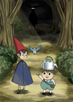 Over the Garden Wall fan art by doodlingburrito