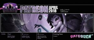 April 2018 Patreon by CatCouch