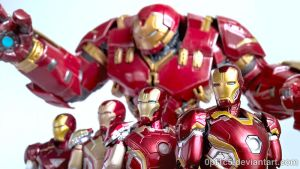 Iron Man Armors 05 by 0PT1C5