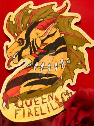 Queen Firelily by Evanescent-Serenity