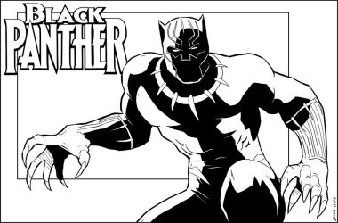 Black Panther by NathanKroll