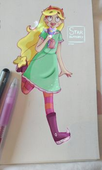 StarButterfly by Edlynart