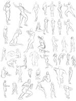 poses by leejun35