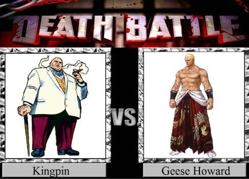 Kingpin vs. Geese Howard by JasonPictures