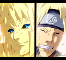 Naruto 644 - Father And Son by The-103