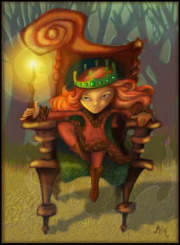 PrincessWoodenThrone by MMcK22