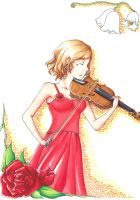 Violin Player by Kamikaze-Kaito