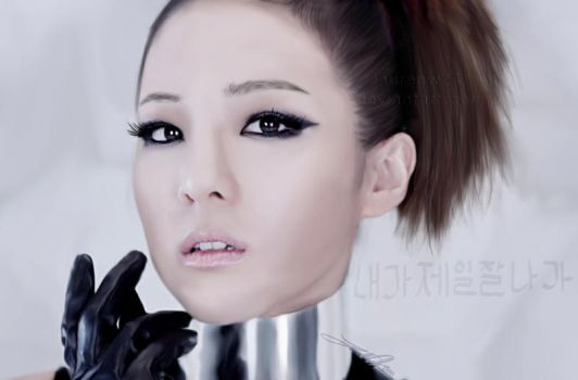 Dara- I Am The Best -painting- by LaurenW24