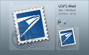 USPS Mail Icon by DoNotThrowAway