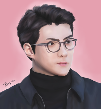 Sehunnie boy by Bupou