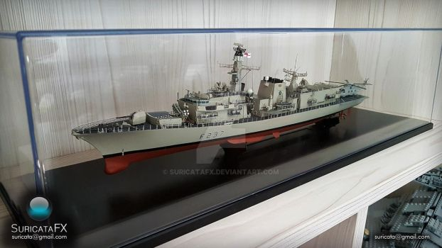 HMS Westminster 1/350 model by SuricataFX