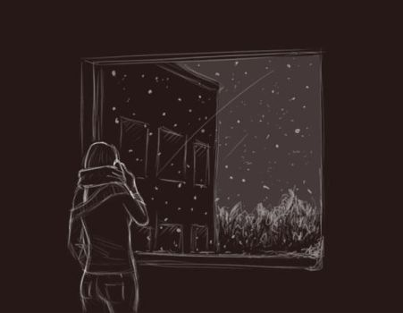 Snowgazing by hedgefield