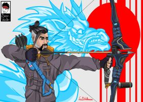 Hanzo Shimada by Boy-Wonder-Arts
