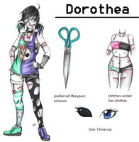 :Horror OC: Dorothea Johnson by MikuParanormal