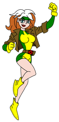 X-Men - Rogue by hectorvonjekyllhyde