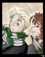 Hermione and Draco by funny-neko