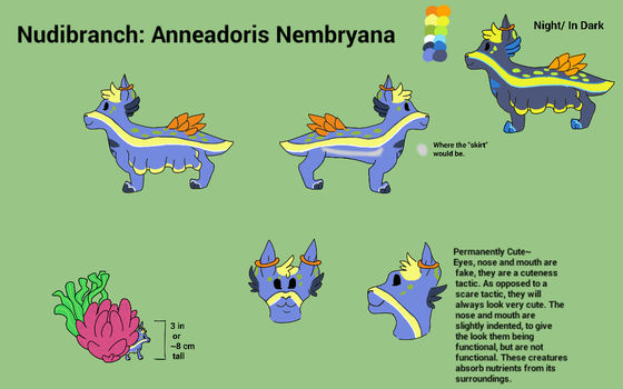 Nudibranch Contest Entry!!!! by TheFandomWithNoName