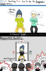 Nezumi Teaches Shion Gangnam Style by ThatSqueakyCoyote on