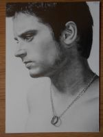 Pencildrawing of Elijah Wood.. (very imaginative) by Valyanna8361