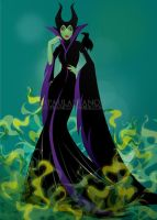 Maleficent  - The Mistress of All Evil! by paufranco