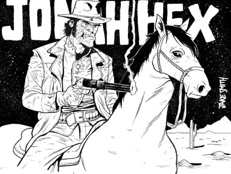 Jonah Hex Commission by JakeSmithArt
