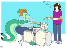 COM - Drum Lessons by Day-Tripper-Guy