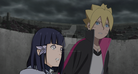 Boruto Worried About Hinako *fake screenshot* by Hallowsky33