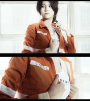 getting ready [pt. 1] :: Chell :: Portal 2 by GlamForUs