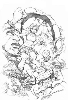 Rise of the Tomb Raider by RandyGreen