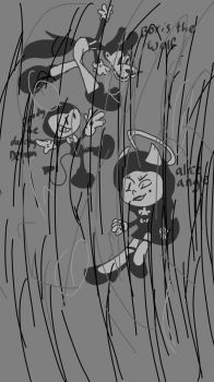 a crapy batim drawing by Wolfcarrot8emgoast