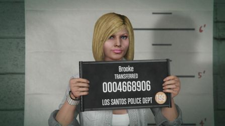 GTA Online - Mugshot 2017 by MaisyDaydream