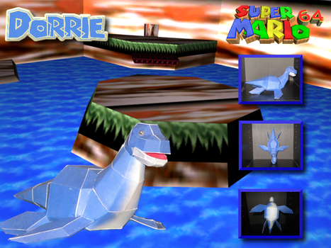 SM64 Dorrie Pic by master-mind777