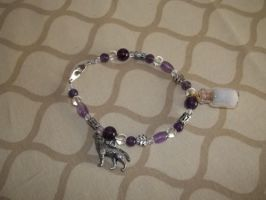White Wolf Spirit Healing Bracelet -SOLD- by DaybreaksDawn