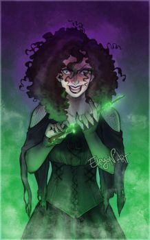 Bellatrix is watching you by IreneMartini
