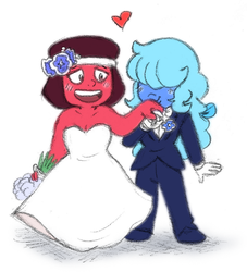 Rupphire Wedding by Mad-But-Happy