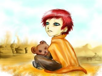 Lil' Gaara of the sand by Killproduct