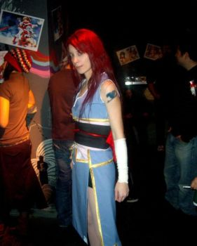 Erza robe of yuen beta by Elphiria