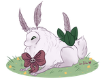Bunny Hops by Red-Draws