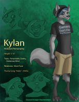 [OC Training] Kylan - Task 2 by Ulario