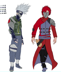 From My LiveStream Naruto Redesign by ChaosShannon