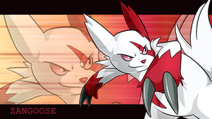 Zangoose by Natsuakai