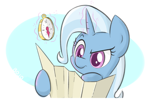 Lost Trixie (ATG Day 2) by el-bojo