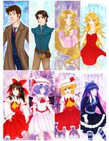 Misc. Fanart Bookmarks Set 02 by Veeves
