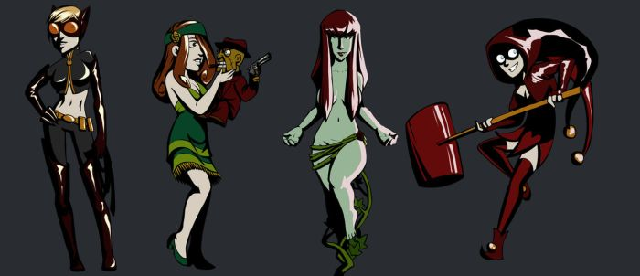 Villainesses by poly-m
