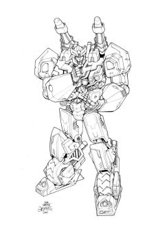 Prowl Commission by glovestudios