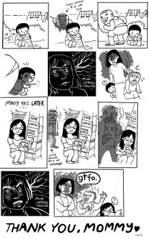 Awkwardsauce: Mother's Day 09 by Isaia