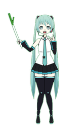 Miku (But she in my style + export) by AestheticNyx