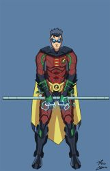 Armored Robin by phil-cho