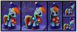 Winter Outfit Rainbow Dash by Nazegoreng
